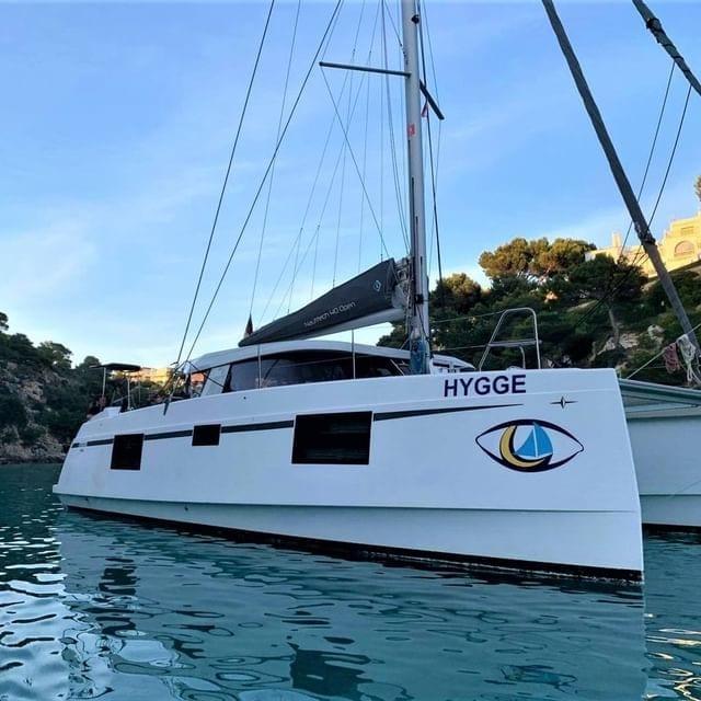 Katamaran Hygge Iris Yachtcharter Mallorca